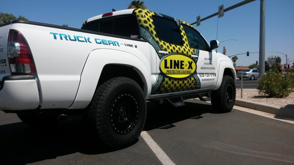 Line-X White Premium - Truck Mates, A Great Source for All ...